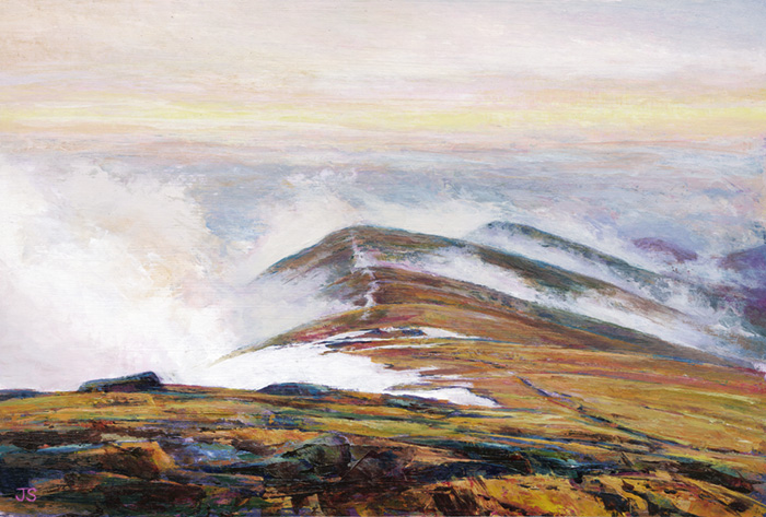 Fairfield Horseshoe - original painting by Jerry Smith