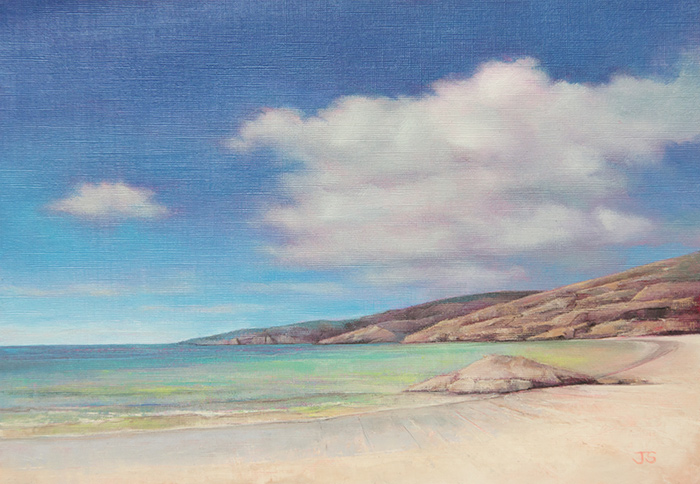 Achmelvich - original painting by Jerry Smith